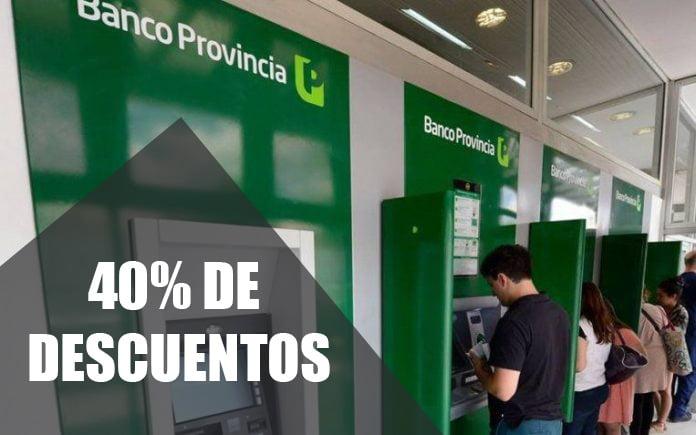 Descuentos del Banco Provincia