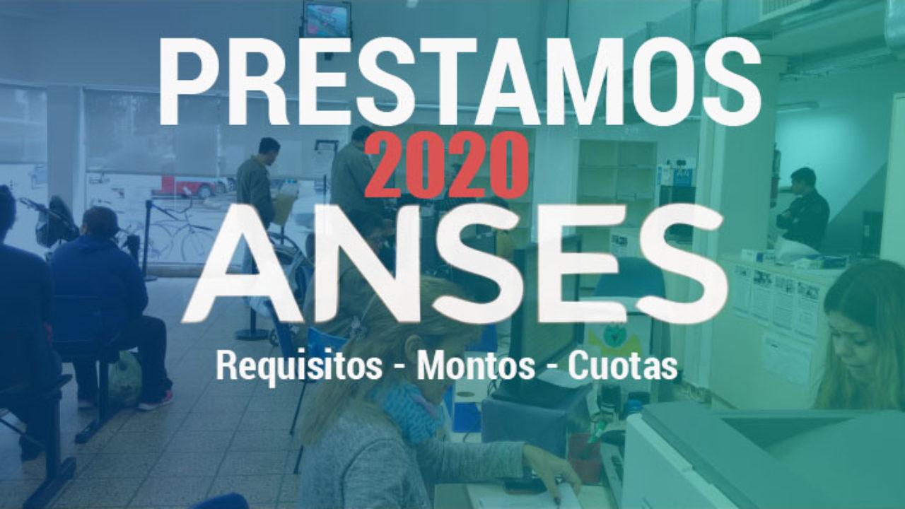Prestamo anses 2020
