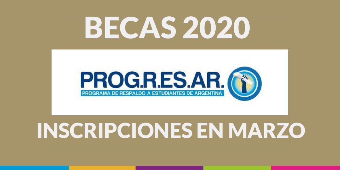 Becas Progresar 2020