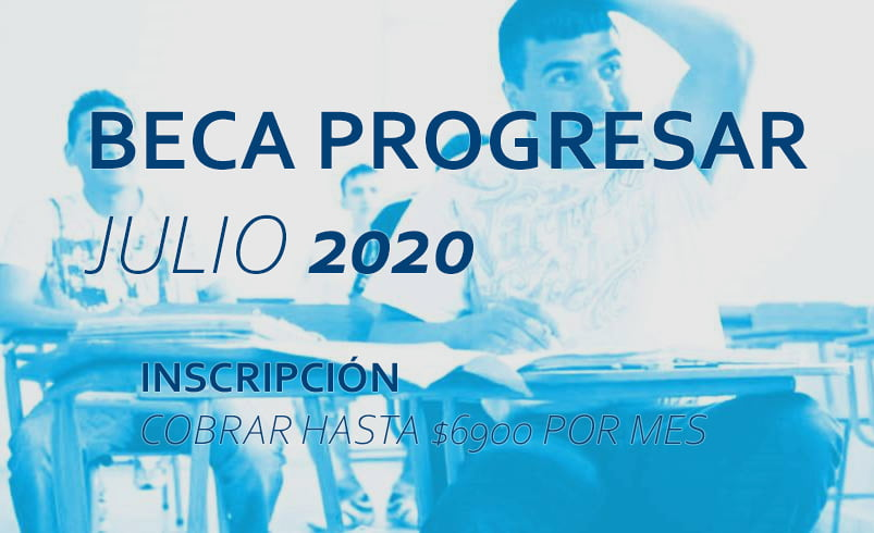 Beca progresar JULIO 2020