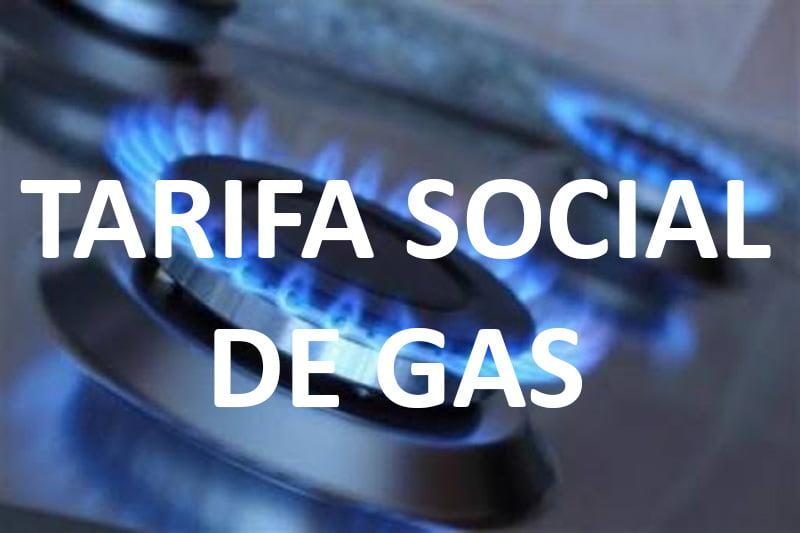 Tarifa Social de Gas