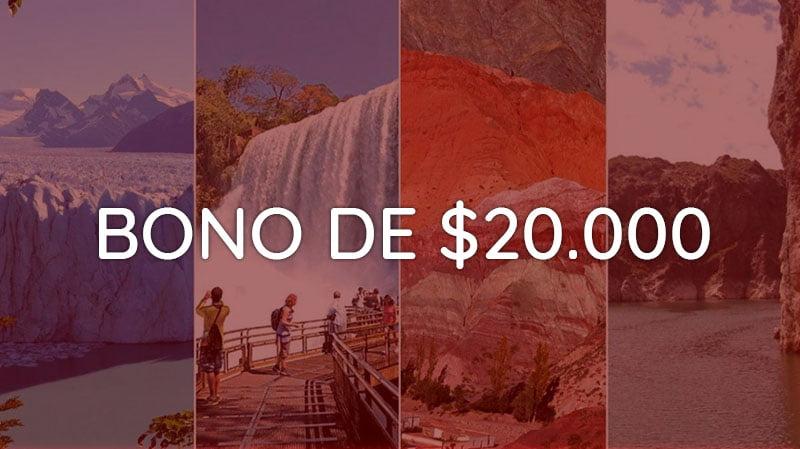Bono Vacacional de $20000