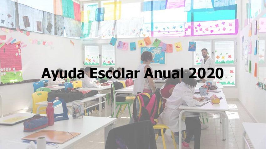 Ayuda Escolar Anual 2020