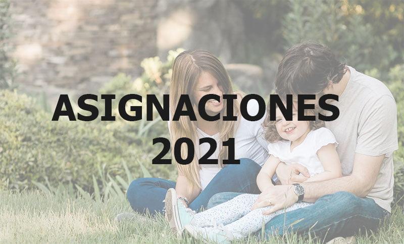 Asignaciones 2021