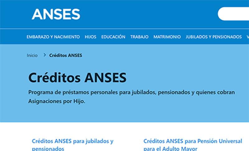 Requisitos para los Prestamos ANSES 2021