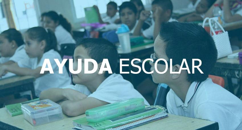 TURNOS para la Ayuda Escolar