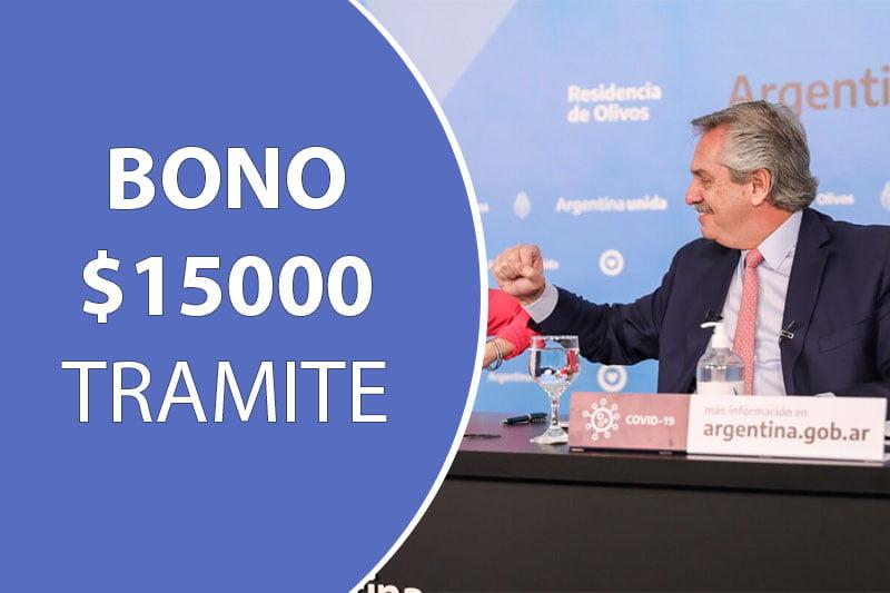 Bono de $15000