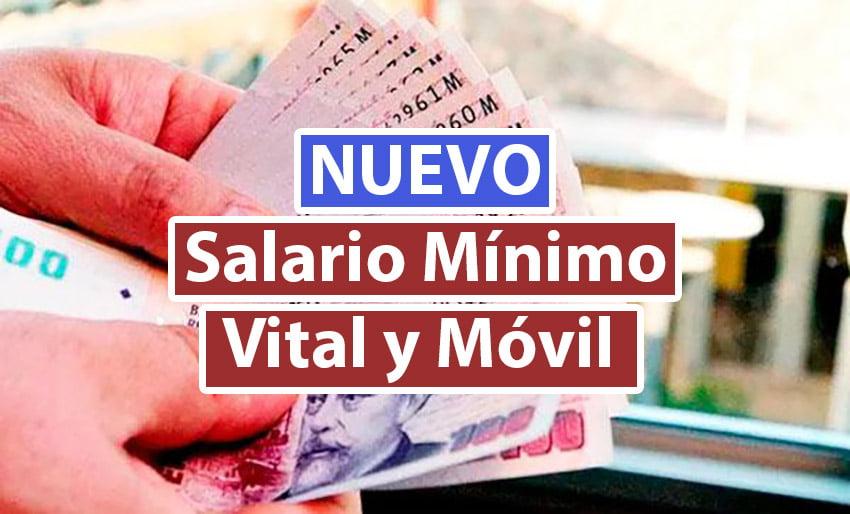 Nuevo Salario Mínimo Vital y Móvil