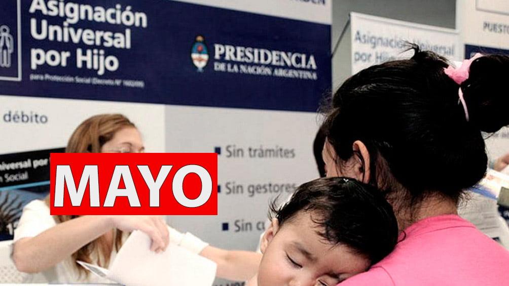 Asignación Universal Por Hijo MAYO 2021
