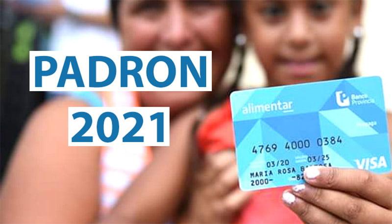 Padrón 2021