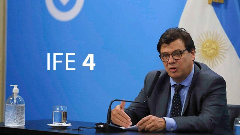 Nuevo pago del IFE 4