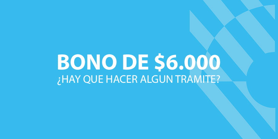 Bono de $6.000